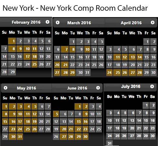 May Calendar Vegas : Myvegas room rewards calendars mark s las vegas