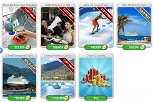 myVEGAS Royal Caribbean Cruise Rewards page 2