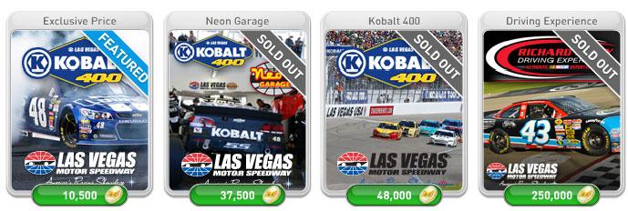 NASCAR 2015 myVEGAS Rewards