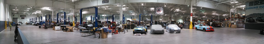 Panorama of the Shelby Production Facility