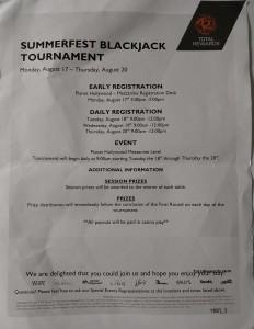 summerfest blackjack 2015