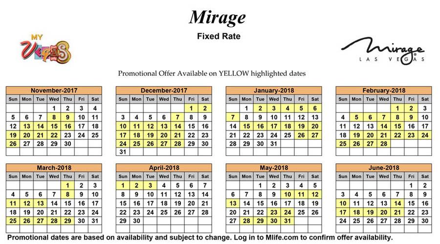 november 2018 calendar las vegas
